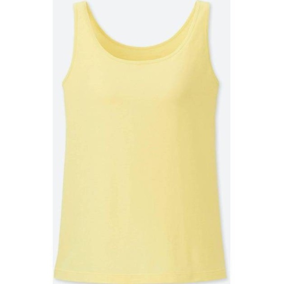 f6b201d7b7a Uniqlo Tops | Women Supima Cotton Bra Sleeveless Top | Poshmark